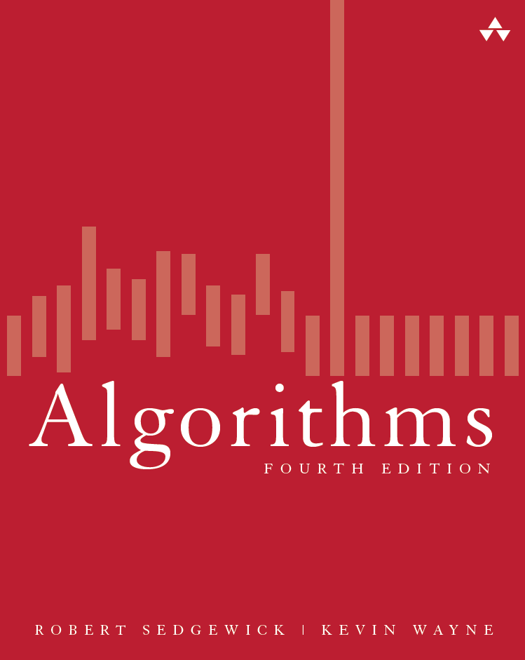 Algorihtms, 4th Edition by Robert Sedgewick and Kevin Wayne